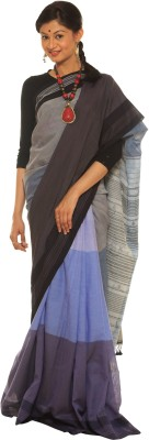 Indo Mood Woven Fashion Cotton Sari