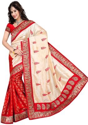 Raviraj Embriodered Chanderi Silk Cotton Blend Sari