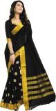 Jannat Self Design Fashion Cotton Saree ...