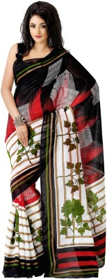 Vivels Enterprise Self Design Bhagalpuri Art Silk Sari