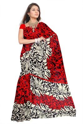 svb sarees Printed Assam Silk Art Silk Sari
