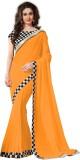 Panchi Self Design Bollywood Chiffon Sar...