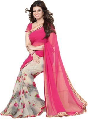 Vdimpex Printed Bollywood Pure Georgette Sari
