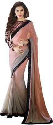 Gaps-Creation Geometric Print Bollywood Georgette Sari