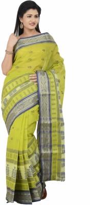 Banglar Taant Self Design Shantipur Handloom Cotton Sari