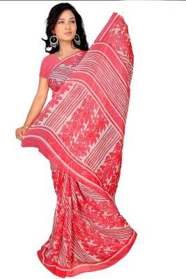 Vardan Prints Printed Bollywood Synthetic Georgette Sari