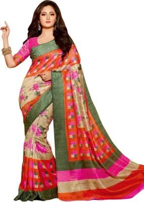 N Paraswanath Printed Bhagalpuri Art Silk Sari