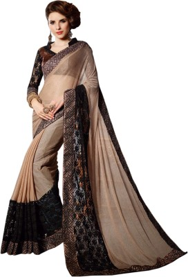 Vidya Fashion Embriodered Fashion Net Sari