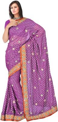 MGS Printed Fashion Georgette Sari