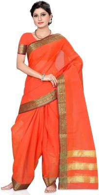 Shama Self Design Fashion Cotton Sari