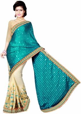 Aarti Apparels Embriodered Bollywood Chiffon Sari