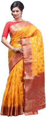 Creation Floral Print Fashion Silk Sari