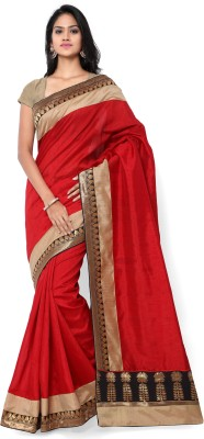 Shree Parmeshwari Self Design Fashion Art Silk Sari