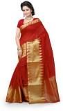 Style U Self Design Banarasi Cotton Sare...