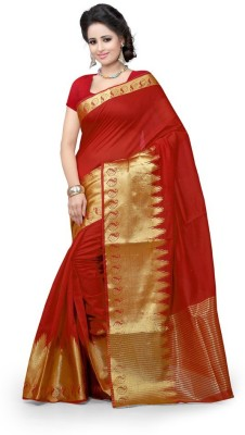 Style U Self Design Banarasi Cotton Sari