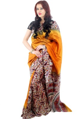 Fashion Mix Printed Daily Wear Printed Silk Sari