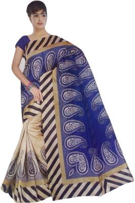 Varsha Solid Fashion Art Silk Sari