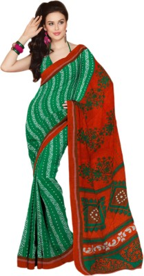 Hypnotex Solid Fashion Cotton Sari