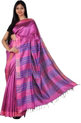 PriyanjaliBoutique Self Design Bhagalpuri Dupion Silk Sari
