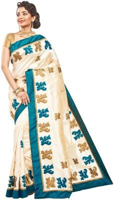 RBSarees Self Design Fashion Raw Silk Sari