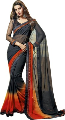 Kumar-Textiles Printed Chanderi Synthetic Fabric Sari
