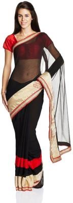 Aryahi Solid Fashion Chiffon Sari