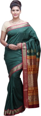 Nalliee Self Design Paithani Poly Silk Sari