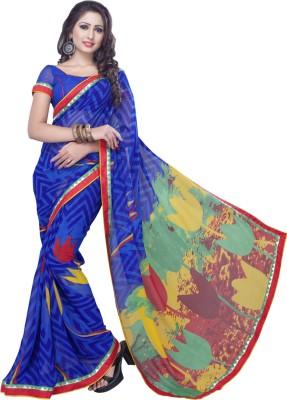 Admyrin Printed Daily Wear Georgette Sari