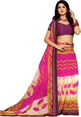 Varlaxmi Printed Fashion Cotton Sari