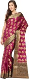 Fabroop Woven Fashion Art Silk Saree (Re...