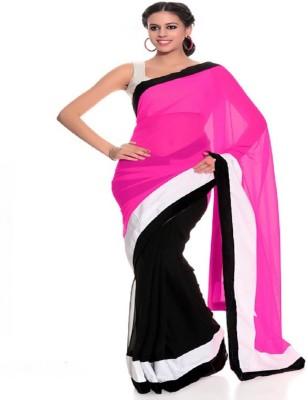 Radhika Sari Solid Bollywood Handloom Chiffon Sari