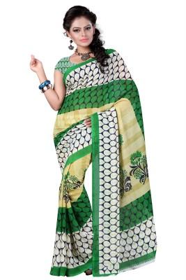 RajSilkCreation Printed Fashion Pure Georgette Sari