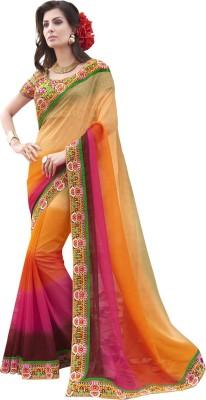 Patiala House Embriodered Fashion Chiffon Sari