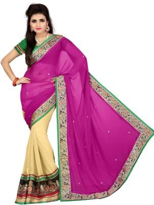 Adinath Fashion Embriodered Bollywood Georgette Sari