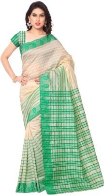 Sarvagny Clothing Self Design Fashion Art Silk Sari