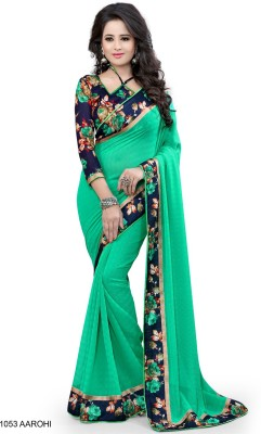 KamaniGarment Digital Prints Daily Wear Georgette Sari