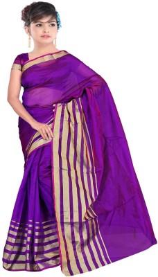 Neeta Creation Printed Fashion Silk Cotton Blend Sari