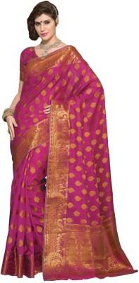 Radhika Creation Self Design Chanderi Tussar Silk Sari