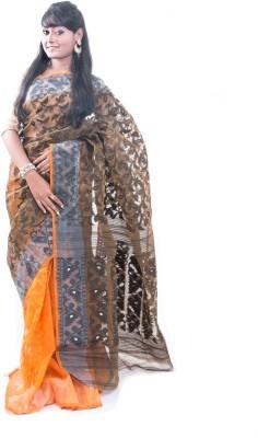 Roshni Self Design Tant Handloom Cotton Sari