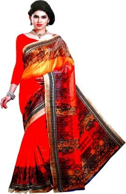 Aara Textiles Self Design Fashion Synthetic Fabric Sari