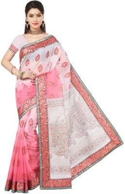 RA Graphic Print Bollywood Cotton Sari
