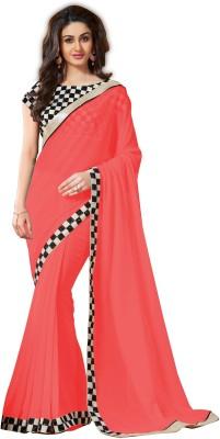 Angel Retail Self Design Bollywood Chiffon Sari