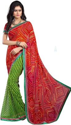 Stylezone Printed Bollywood Georgette Sari