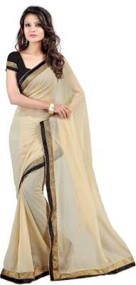Alira Solid Bollywood Chiffon Sari