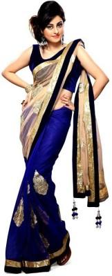 First Lady Embriodered Fashion Handloom Chiffon Sari