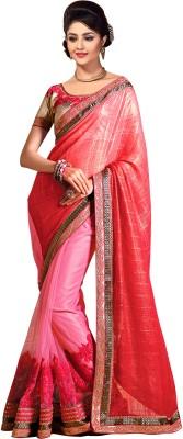 ARsalesIND Embriodered Bollywood Chiffon, Net Sari