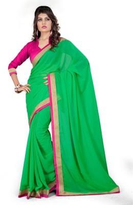 Shiddhi Vinayak Creation Printed Bollywood Pure Crepe Sari
