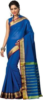 Srijati Striped Tant Cotton Sari