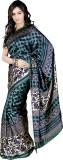 Melluha Printed Fashion Silk Saree (Mult...