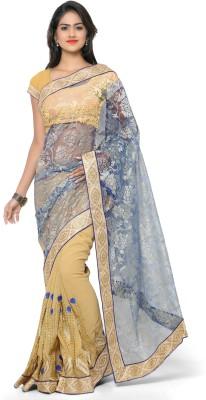 Khazana Embriodered Fashion Georgette Sari